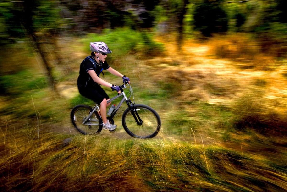 Teen-Girl-Mountain-Biking