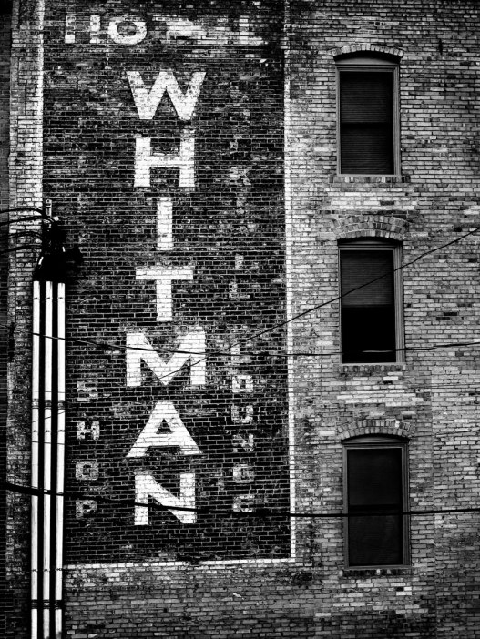 Whitman-Hotel-Sign-B&W-2