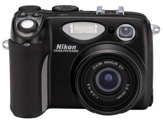 nikon-coolpix-5400-front